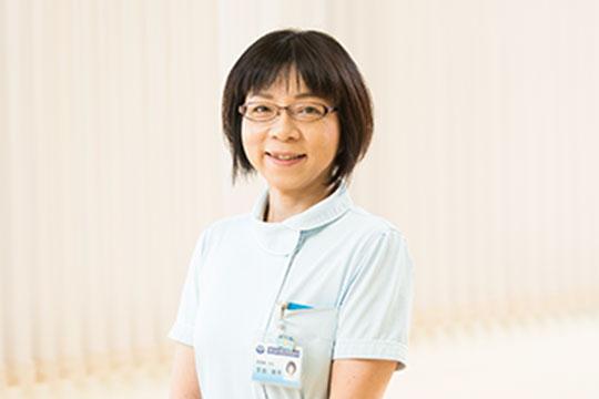 看護主任 芳田 祥子